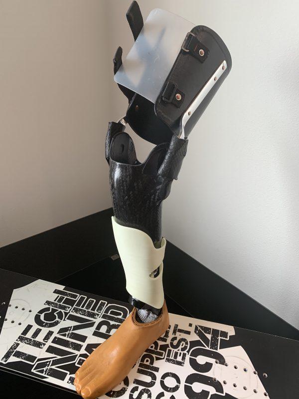「【スキー用義足編】スキー用の義足を製作してみました!」(広告記事)